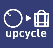 upcycle bicycle tube / white by glbrt