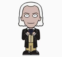 The First Doctor (sticker) by redscharlach