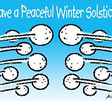Have a Peaceful Winter Solstice! by atheistcards
