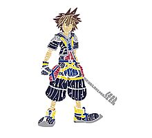 Kingdom Hearts - Sora Photographic Print