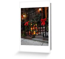 Yuletide in the City Greeting Card