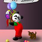 Birthday Panda by jkartlife