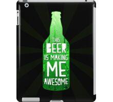 Typography - Beer iPad Case/Skin