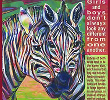 Uniform (Zebra) - POSTER by Gwenn Seemel