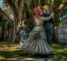Dime Dance Beneath the Banyan Trees by James Hoffman