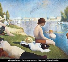 Georges Seurat - Bathers at Asnières by William Martin