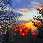 Sunset In Pewaukee by EBArt