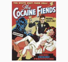 """The Cocaine Fiends"" Vintage Exploitation Art  by TrueLoveTees"