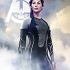 Catching Fire Katniss Everdeen by forbiddenforest