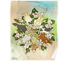 Bright Spring Rat King Poster