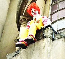 Ronald's Suicide by BanksyOfficial