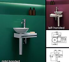 Wall Mounted Wash Station by livinghouse