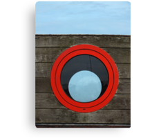 Port Hole, Starboard Hole? Canvas Print