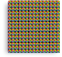 Spectral Matrix Canvas Print