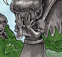 Weeping Angel Games Sticker