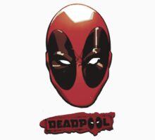 deadpool mask  by Alexander Traykov