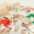 Vintage Christmas cookie cutters Christmas card by campyphotos