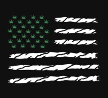 USA Flag (Marijuana) by designCENTRAL