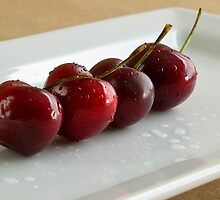 Row of Cherries by Mark McKinney