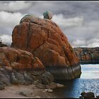 Etherial Boulder by Wayne King