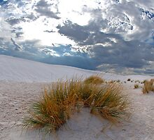 Clouds Over White Sands by Mark McKinney