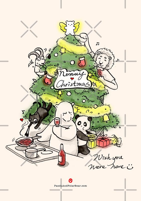 Nommy Christmas by Panda And Polar Bear