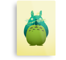 Totoro's Day Out Metal Print