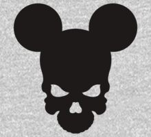 Skull Mickey by McDraw
