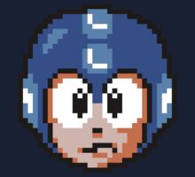 Megaman Face by KerzoArt