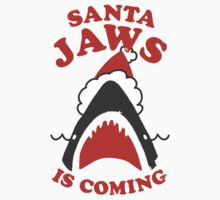 Santa Jaws Is Coming by Look Human