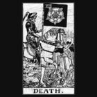 Death Tarot Card - Major Arcana - fortune telling - occult by James Ferguson - Darkinc1