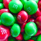 Christmas Peanut Butter M&M's by Susan S. Kline