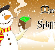 Merry Spliffmas - Ganja Gift Box by mouseman