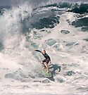 John John Florence 2006: Surfing The Pipeline at 13. by Alex Preiss