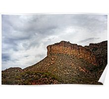 Light After Storm on Apache Trail Poster