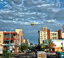 Downtown Albuquerque by IOBurque