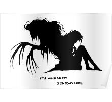 Where my demons hide Poster