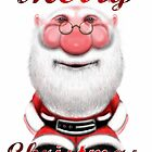 Santa Claus Christmas Card by Sookiesooker