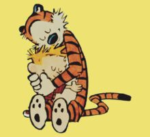 Calvin and Hobbes - Hugs by EasilyConfused1