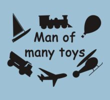 Man of many toys by rjburke24