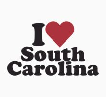 I Heart Love South Carolina by HeartsLove