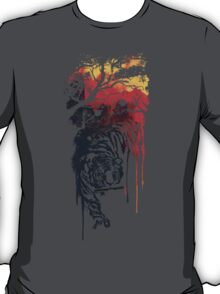 Painted watercolor tiger T-Shirt