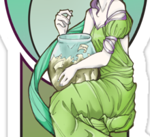 Effie Art Nouveau Sticker