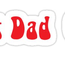 Best Dad Sticker