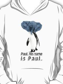 Uh, yeah. We named him. T-Shirt