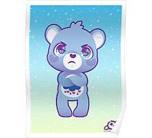 Grumpy bear Poster