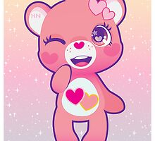 Love-a-lot bear by cutegalaxy