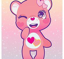 Love-a-lot bear by cutegalaxy