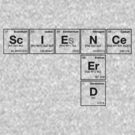 SCIENCE NERD - Periodic Elements Scramble!  by dennis william gaylor