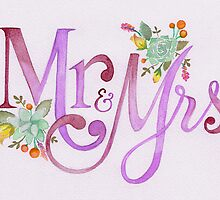 Mrs & Mrs by BbArtworx